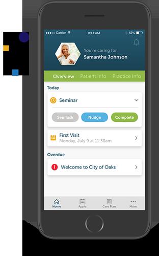 improved patient satisfaction, companion app